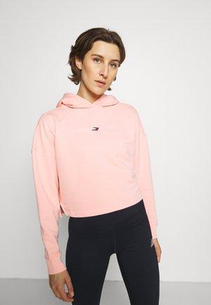 REGULAR GRAPHIC HOODIE - Bluza rozpinana - pink opal