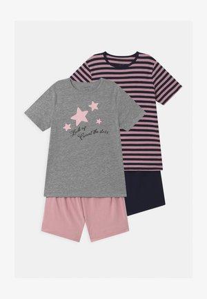NKFNIGHTSET 2 PACK - Pyjama set - grey melange