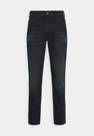 G-BLEID SLIM C - Jeansy Slim Fit - kir stretch denim o - antic dark ink blue