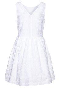 Tommy Hilfiger - BRODERIE ANGLAISE DRESS  - Vestido de cóctel - white - 1