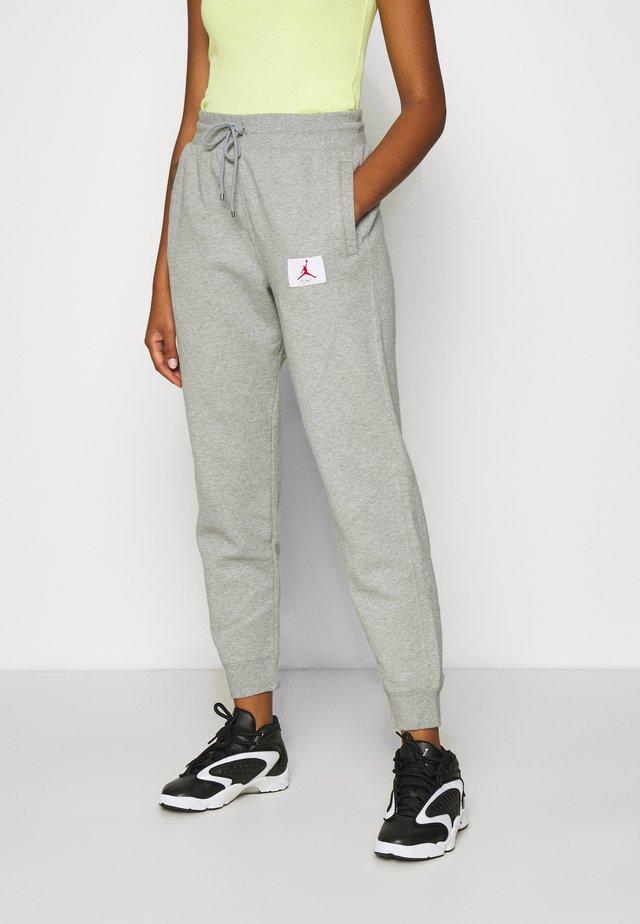 FLIGHT PANT - Pantaloni sportivi - grey heather