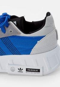 adidas Originals - GEODIVER - Baskets basses - football blue/white/core black - 5