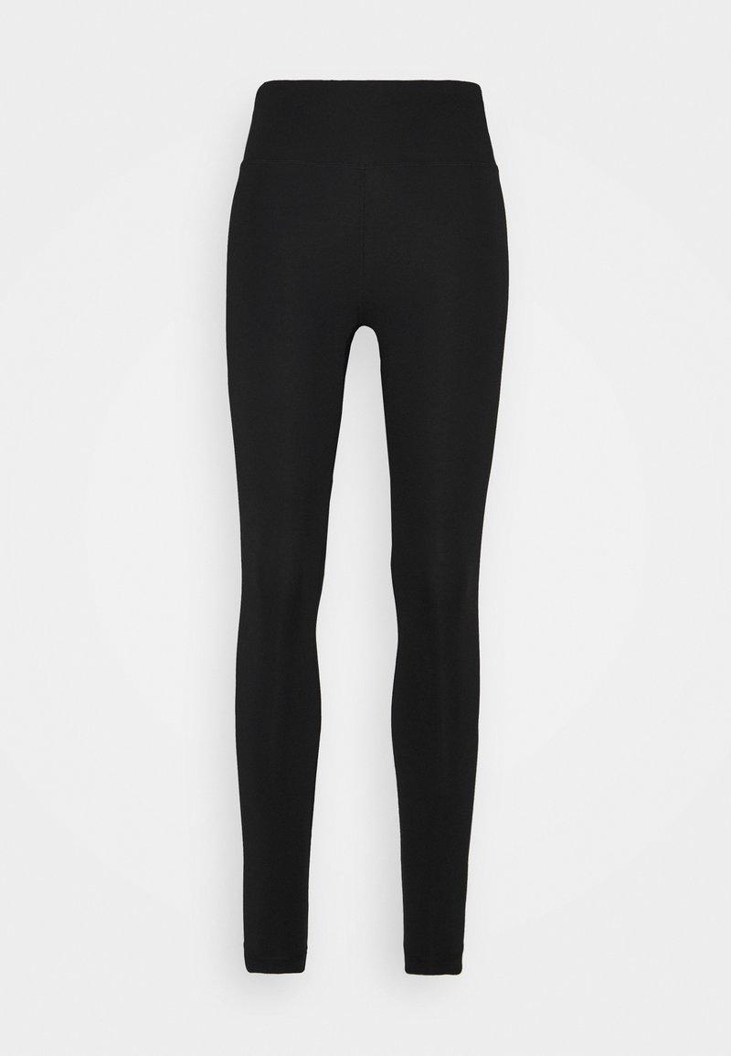 Björn Borg - HIGH WAIST  - Teplákové kalhoty - black beauty