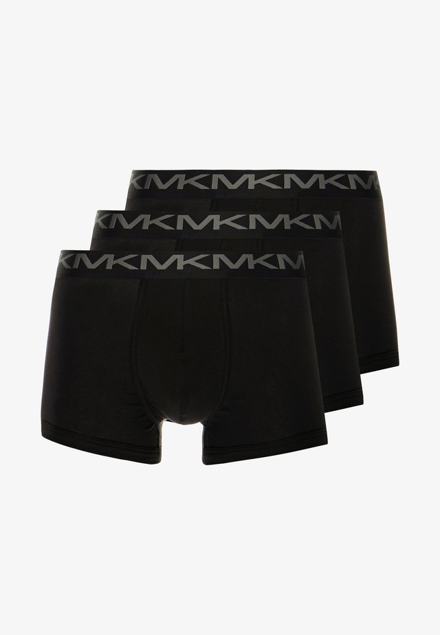 STRETCH FACTOR CORE TRUNK 3 PACK - Underbukse - black