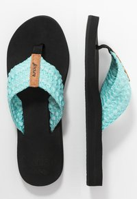 Reef - CUSHION THREADS - Sandály s odděleným palcem - aqua - 3
