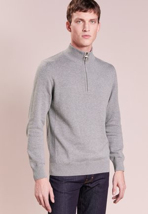 HALF ZIP - Jumper - grey marl