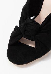 Loeffler Randall - COCO - Pantolette hoch - black - 2