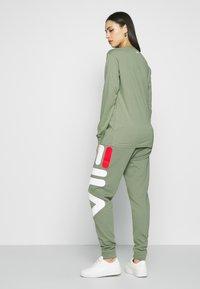 Fila Tall - PURE PANTS - Tracksuit bottoms - sea spray - 2