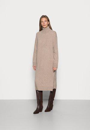 AMARIS DRESS  - Jumper dress - warm grey