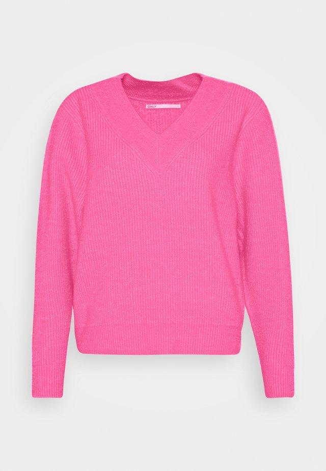 ONLTORI - Svetr - shocking pink
