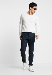 Pier One - Chinos - dark blue - 1