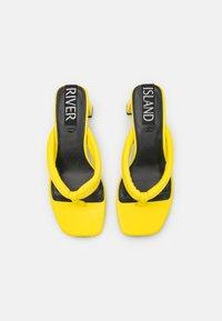 River Island - T-bar sandals - yellow - 5