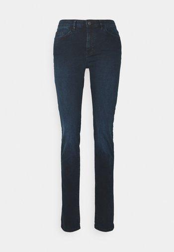 Džíny Slim Fit - blue black