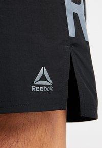 Reebok - ONE SERIES TRAINING SHORTS - Sports shorts - black - 4