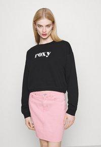 Roxy - BREAK AWAY CREW - Sweatshirt - anthracite - 0