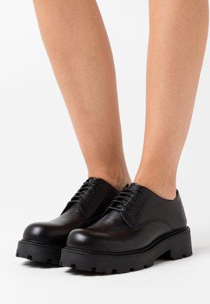 COSMO - Zapatos de vestir - black