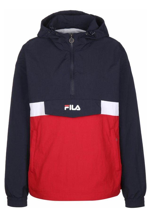 FILA JACKE PAVLINA - Windbreaker - black iris/briwhi/true red
