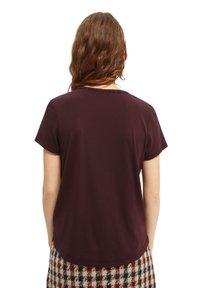Scotch & Soda - Basic T-shirt - wine - 2