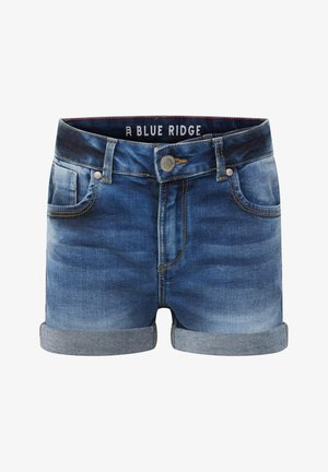 Denim shorts - dark blue