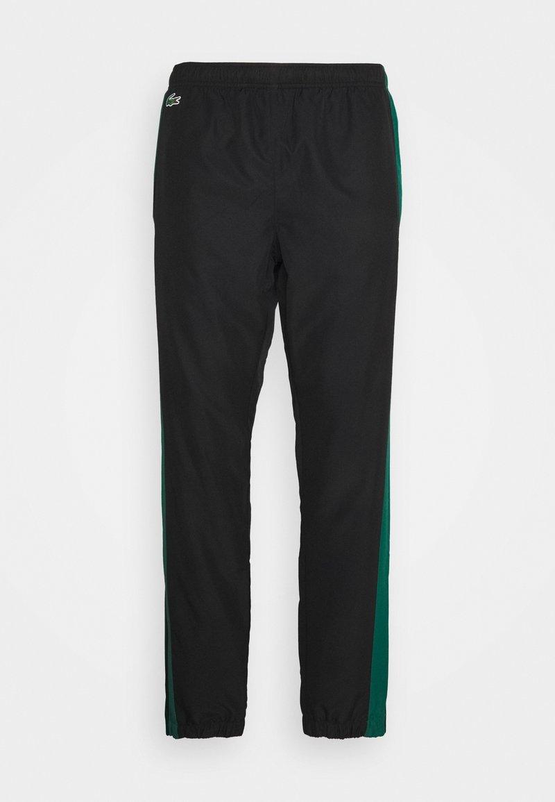 Lacoste Sport - TENNIS PANT - Träningsbyxor - black/bottle green