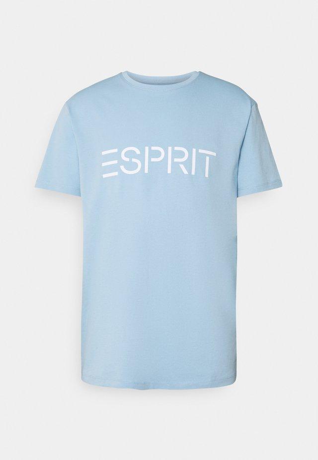 LOGO - T-shirt con stampa - light blue