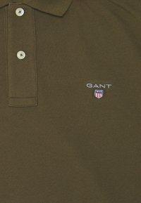 GANT - THE ORIGINAL RUGGER - Polo shirt - dark cactus - 2