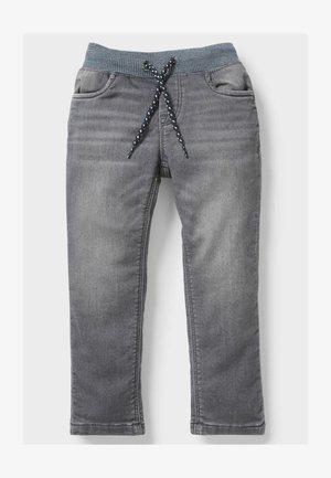 Straight leg jeans - denim-gray