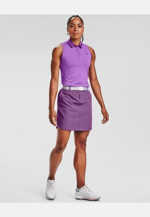 UA LINKS WOVEN SKORT - Rokken - baltic plum