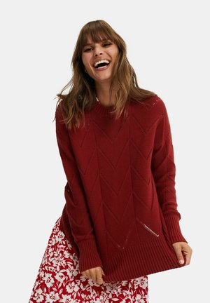 Jumper - saffron red