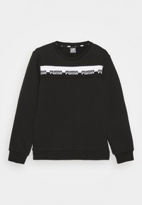 Puma - AMPLIFIED CREW  UNISEX - Bluza - black - 0
