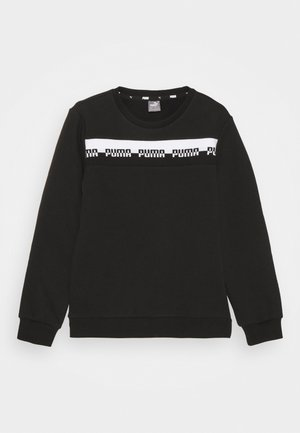 AMPLIFIED CREW  UNISEX - Collegepaita - black