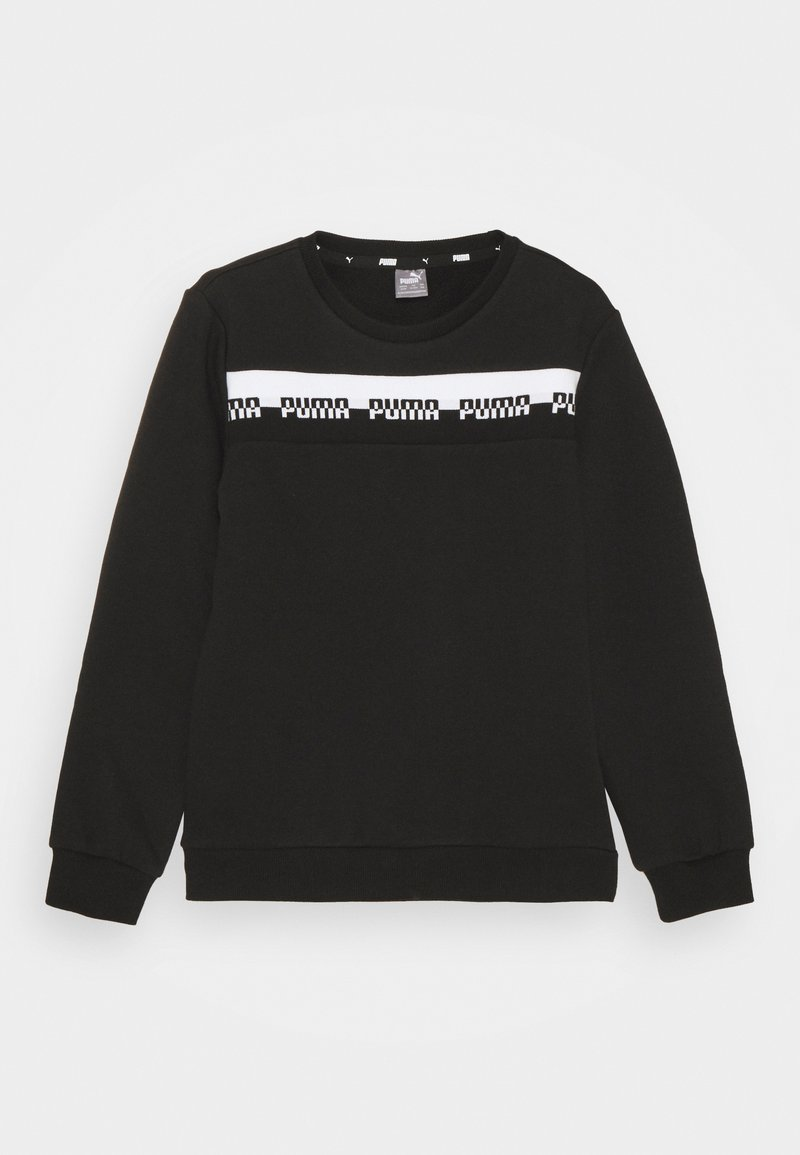 Puma - AMPLIFIED CREW  UNISEX - Bluza - black