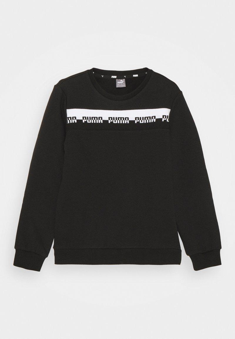 Puma - AMPLIFIED CREW  UNISEX - Sweater - black