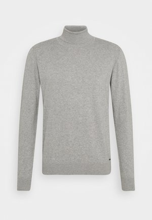 BURNS - Sweter - mottled light grey