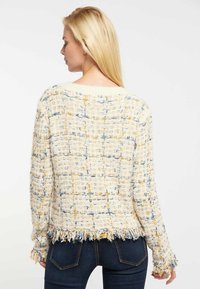 usha - Jumper - beige yellow blue