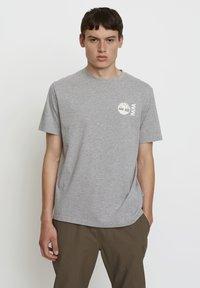 Timberland - WOODWOOD - Print T-shirt - grey - 0