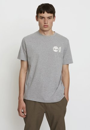 WOODWOOD - T-shirt z nadrukiem - grey