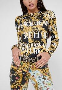 Versace Jeans Couture - LOGO BELT - Cintura - nero - 1