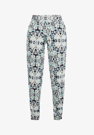 Leggings - Trousers - marine-bedruckt