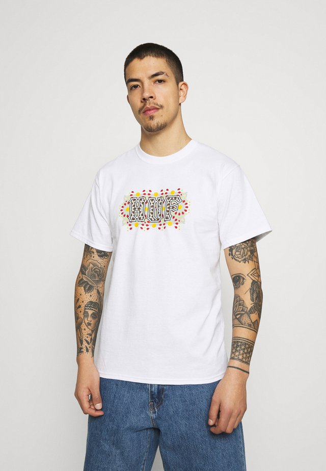 MOROCCAN TEE - T-shirts med print - white