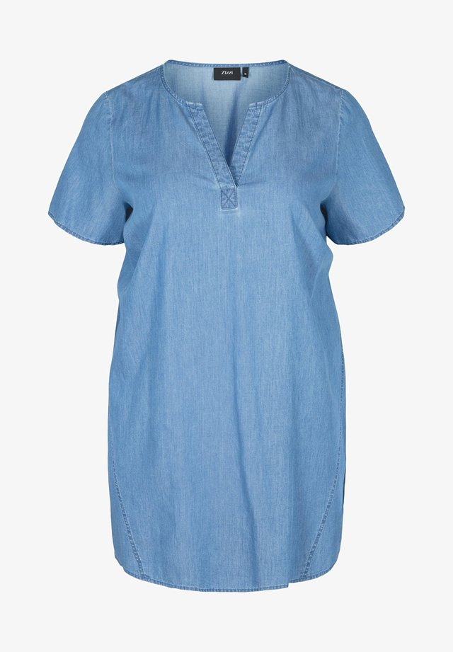 Tunic - medium blue denim