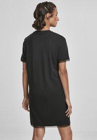 Urban Classics - BOXY LACE  - Jersey dress - black - 2
