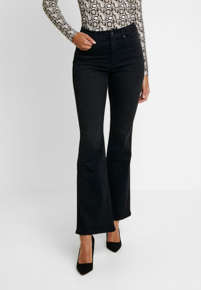 GOOD FLARE - Jeansy Bootcut - black