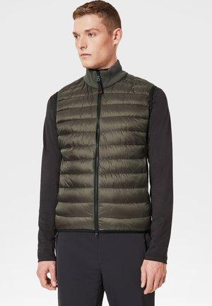 Waistcoat - olivgrün/schwarz