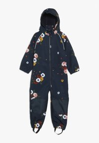 Name it - NMFALFA SUIT BIG FLOWER  - Mono para la nieve - dark sapphire - 0