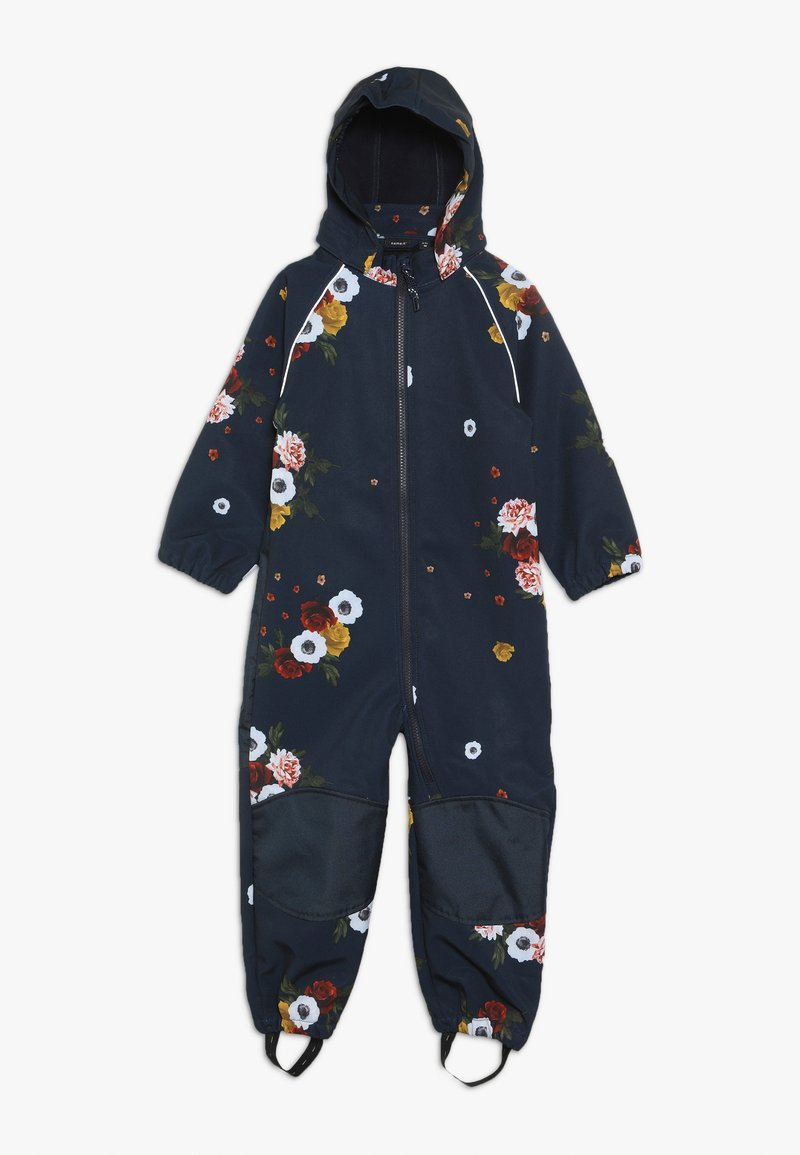 Name it - NMFALFA SUIT BIG FLOWER  - Mono para la nieve - dark sapphire