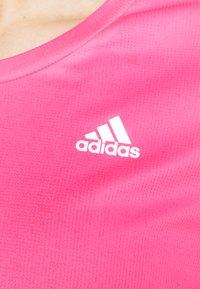 adidas Performance - OWN THE RUN TEE - T-shirts med print - scream pink - 5