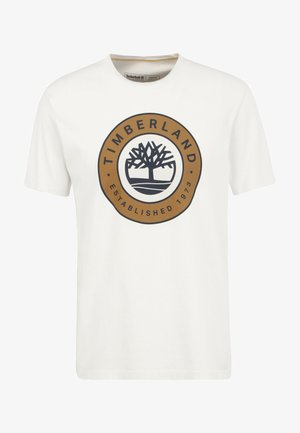 SS TREE LOGO BOUNCLE - T-shirt print - white sand