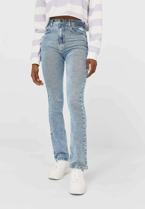IM VINTAGELOOK  - Jeansy Slim Fit - light blue
