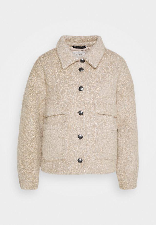 CARLA  - Summer jacket - sesame melange